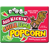 Ass Kickin Chile Lime Popcorn, 3.5oz.