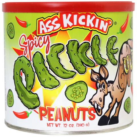 Ass Kickin' Spicy Pickle Peanuts