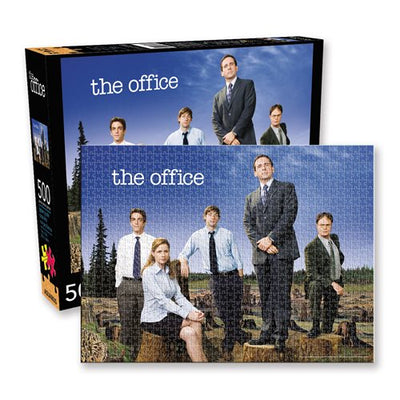 The Office Forest 500-Piece Puzzle