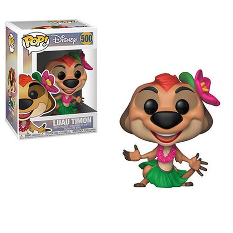 The Lion King Luau Timon Pop! Vinyl Figure #500 - Ferrara Market Inc.