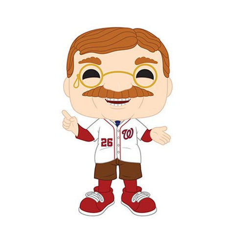 MLB Washington Nationals Teddy Roosevelt Pop! Vinyl Figure - Ferrara Market Inc.