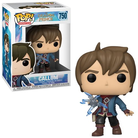 Dragon Prince Callum Pop! Vinyl Figure - Ferrara Market Inc.