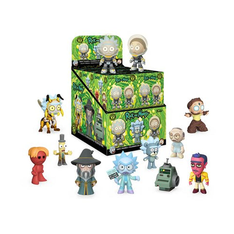 Rick and Morty Series 3 Mystery Minis Display Case - Ferrara Market Inc.