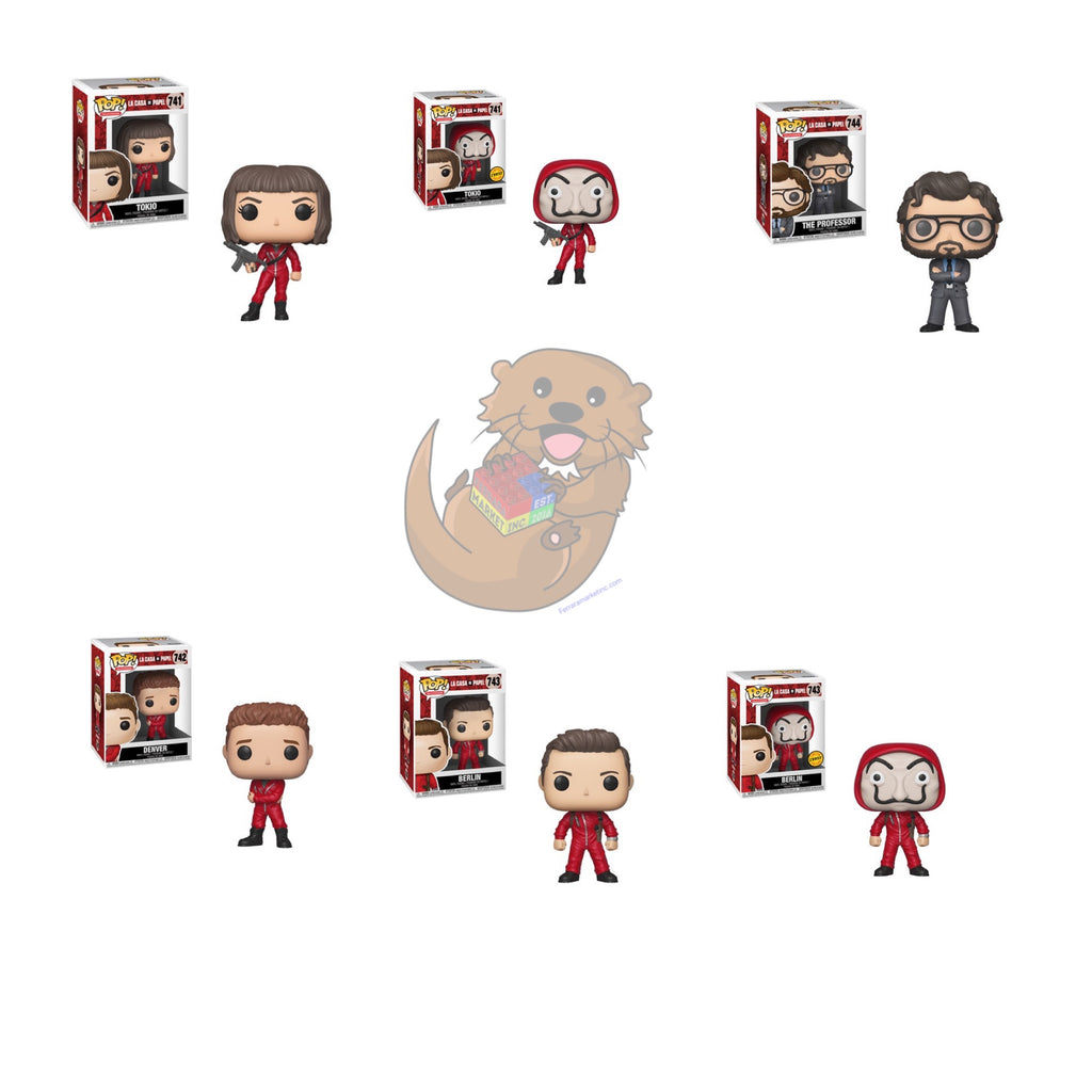 Pop! Television: Money Heist (La Casa De Papel)