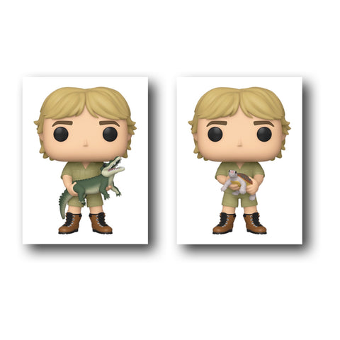 Crocodile Hunter Steve Irwin Pop! Vinyl Figure Chase Bundle - Ferrara Market Inc.