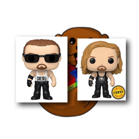 WWE Diesel Pop! Chase Bundle Vinyl Figures - Ferrara Market Inc.