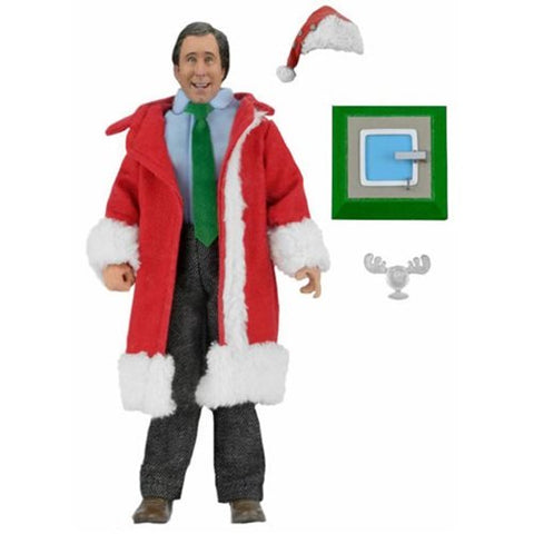 National Lampoon's Christmas Vacation Clark Griswold Santa Outfit 8-Inch Clothed Action Figure