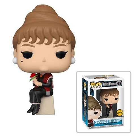 Haunted Mansion Portraits Constance Hatchaway Pop! Vinyl Figure Chase Bundle