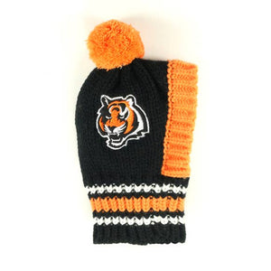 NFL Pet Knit Hat - Bengals - Ferrara Market Inc.