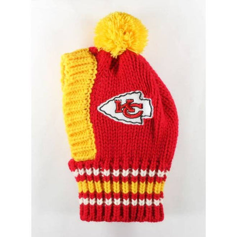NFL Pet Knit Hat - Chiefs - Ferrara Market Inc.