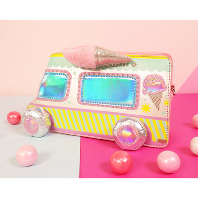 Let's Scream for Ice Cream Truck Handbag