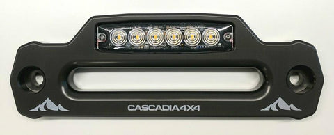 "New Product Release. The ""LED' Fairlead Is An Industry First From Cascadia 4x4!"