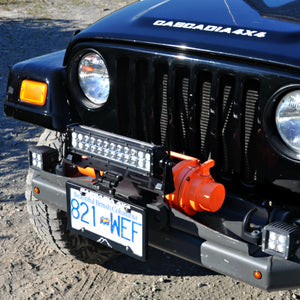 cascadia 4x4 flipster lite winch license plate mounting system