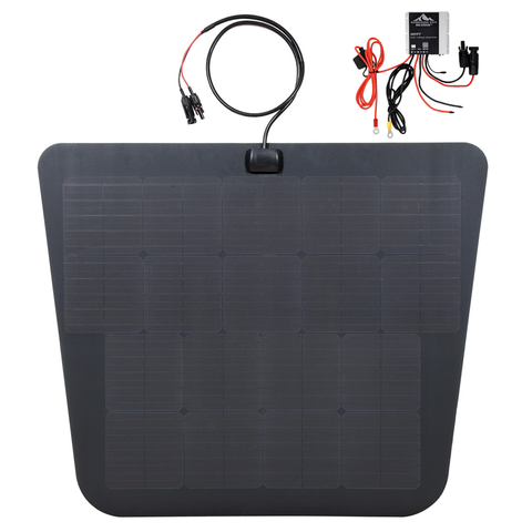 Cascadia 4x4 hood solar panel for toyota tundra