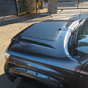 overland hood solar panel for toyota tacoma 2nd generation