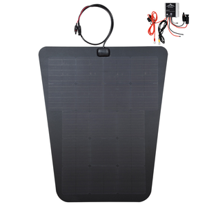cascadia 4x4 toyota tacoma 85w semi flexible solar panel system with MPPT charge controller