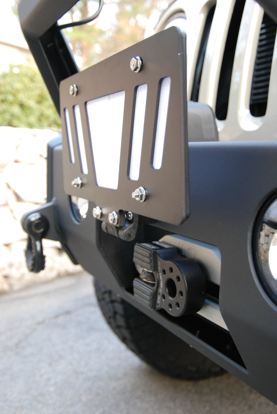"Flipster ""Universal"": Flip Up/Flip Down License Plate Mounting System"