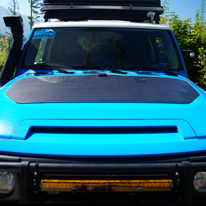 cascadia 4x4 hood solar panel system for toyota fj cruiser
