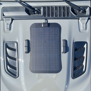 Cascadia 4x4 VSS system hood solar panel for gladiator rubicon