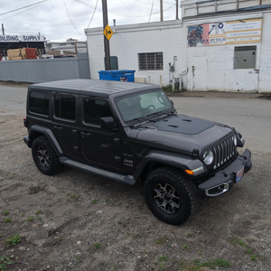 Jeep Wrangler JL and Gladiator VSS System™ - 80 Watt Hood Solar Panel