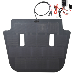 Cascadia 4x4 VSS solar panel system with MPPT charge controller for JL and Gladiator Jeep
