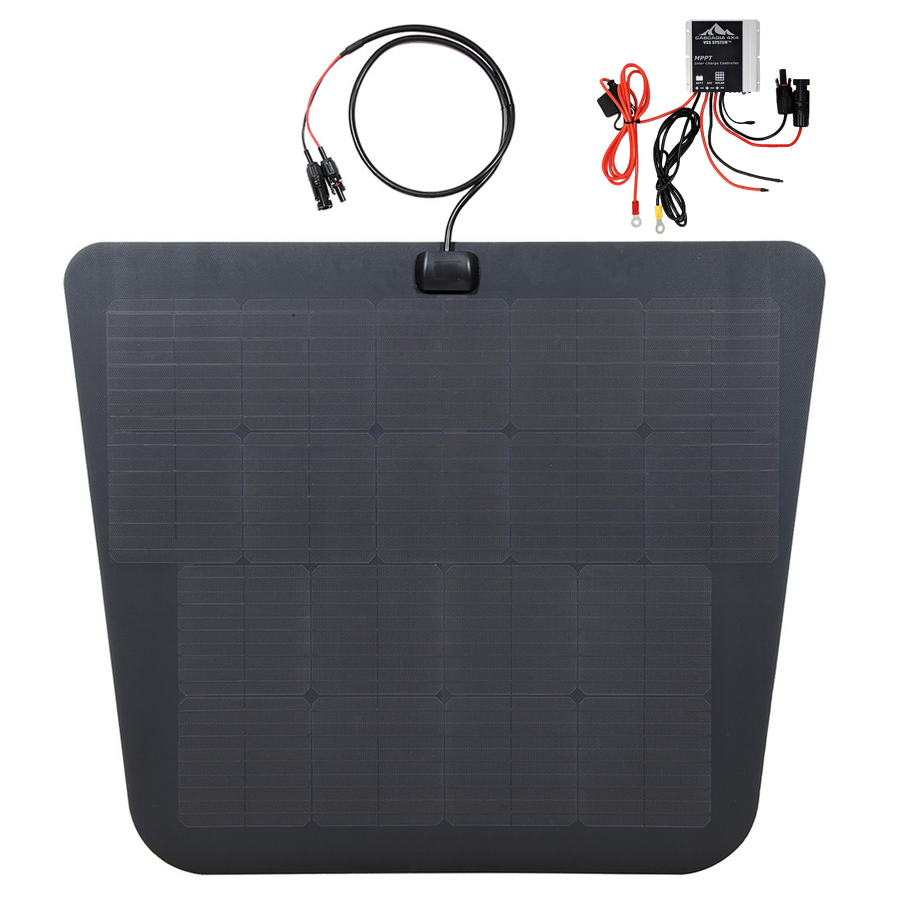 Cascadia 4x4 VSS system for 2nd gen toyota tacoma hood solar panel