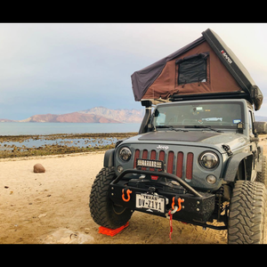 Cascadia 4x4 hood solar panel overland camping jeep jk