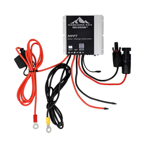 cascadia 4x4 MPPT solar charge controller waterproof