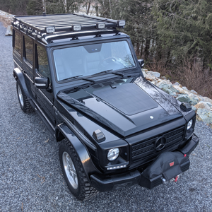 cascadia 4x4 vss hood solar panel for mercedes-benz g-class