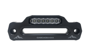 Cascadia 4X4 LED hawse fairlead with hella mst6e