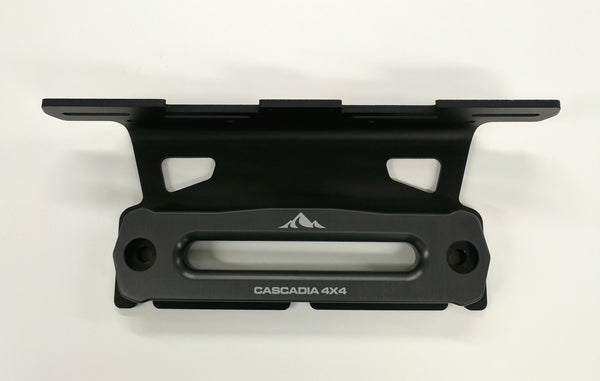 cascadia 4x4 lite mount with hawse fairlead