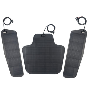 Dodge ram 4th gen 2500 3500 4500 solar panel system by cascadia 4x4