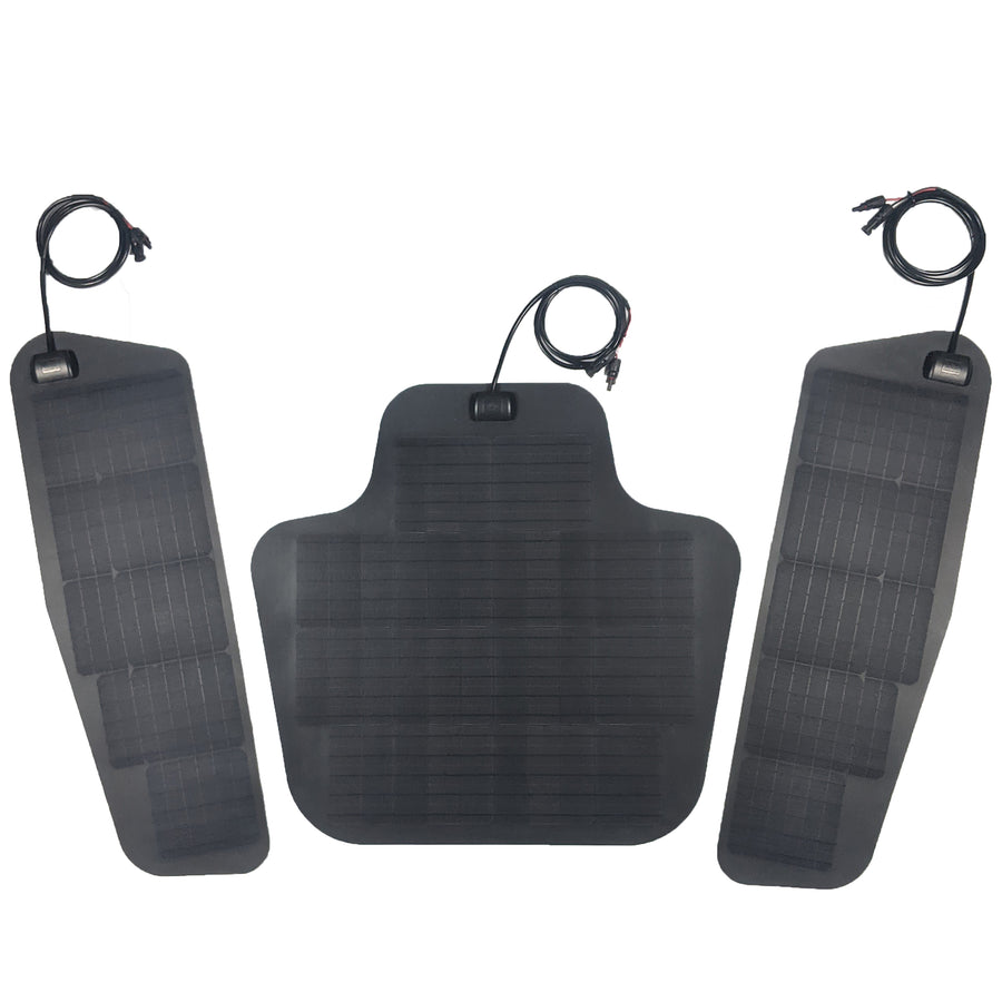 2010-2018 Ram HD solar panel system triple 135W