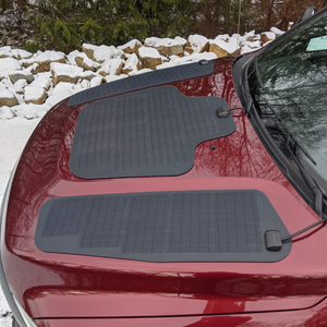 4th Gen Ram HD (2010-2018) VSS System™ 135 Watt Hood Solar Panel (triple)