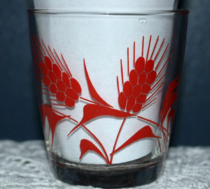 Vintage Glassware Sour Cream & Cottage Cheese Tumblers