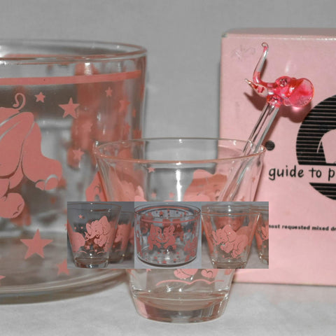 Vintage Barware-Glassware-Cocktail Glasses-Whiskey Decanters-and More