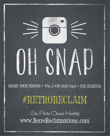 Share your vintage glassware use hashtag #retroreclaim