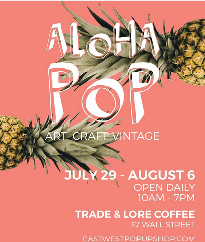 East West Aloha Pop flyer