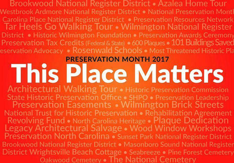 Preservation Month Awareness IMAGE