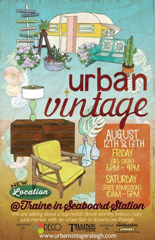 Urban Vintage Raleigh Market Flyer