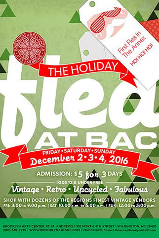 Holiday Flea at Brooklyn Arts Center Flyer