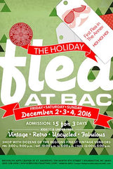 Holiday Flea at Brooklyn Arts Center-Wilmington Flyer