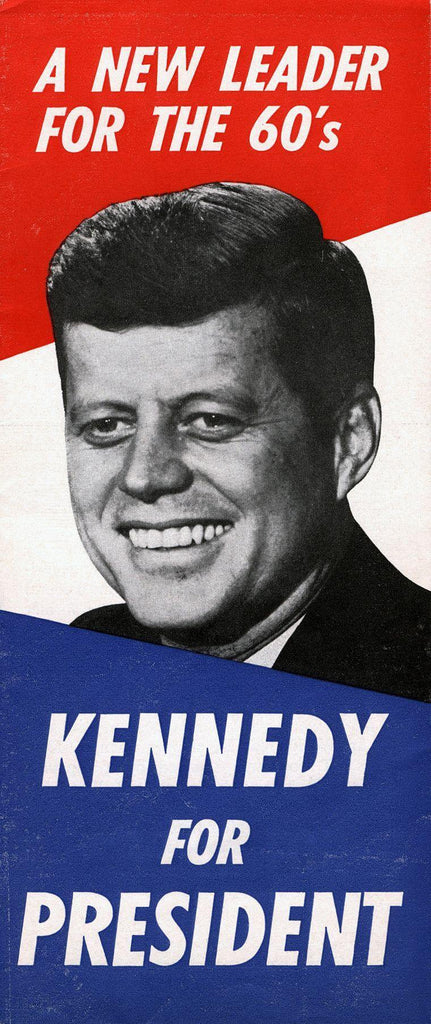 John Fitzgerald Kennedy campaign poster