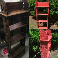Bookcase upcycle