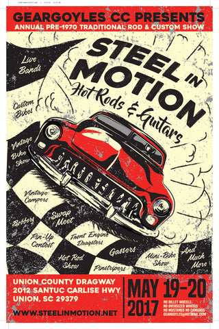 Steel in Motion flyer