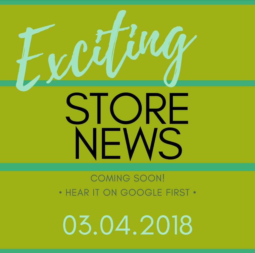 STORE announcement
