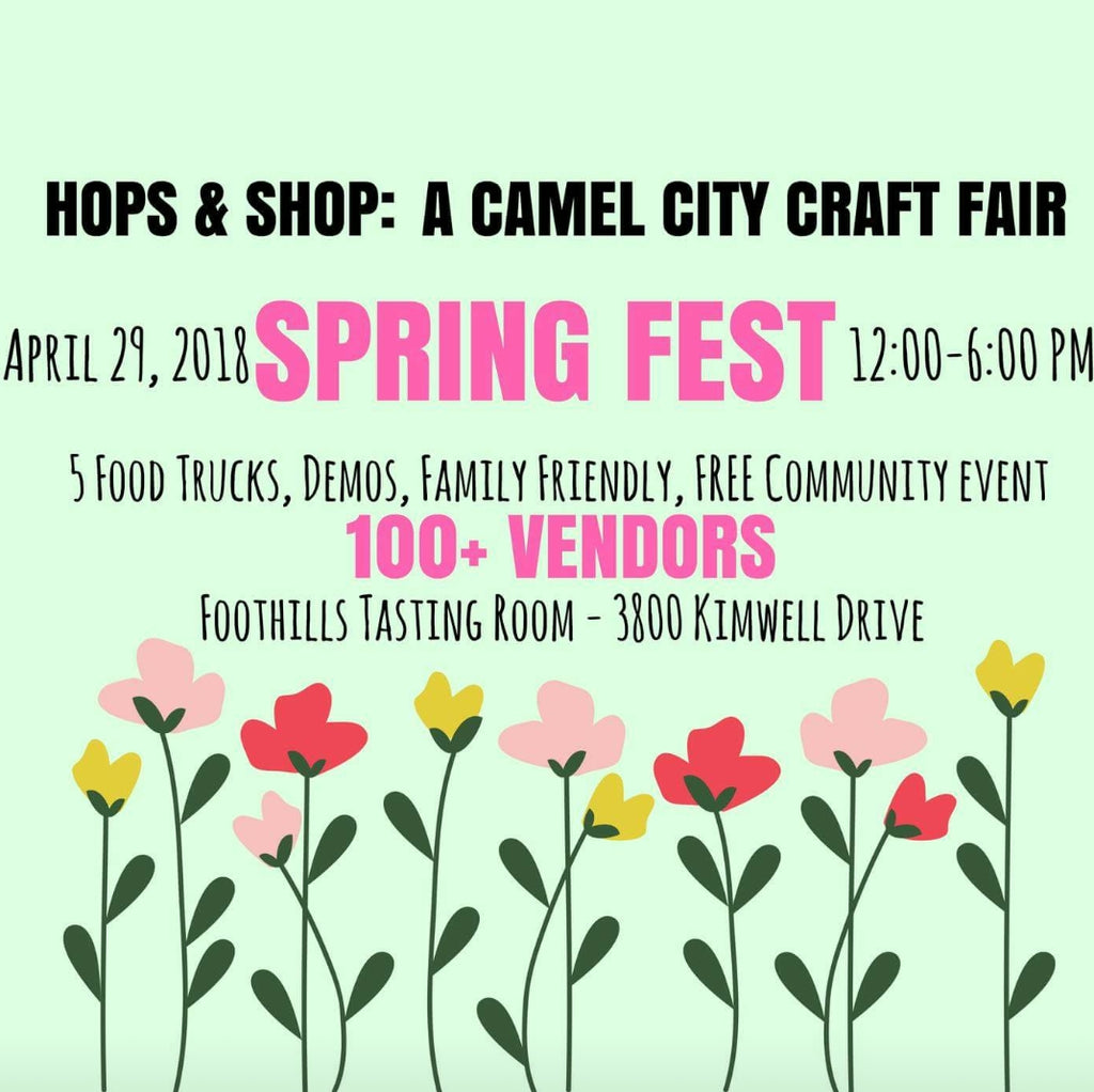 Hops and Shops flyer