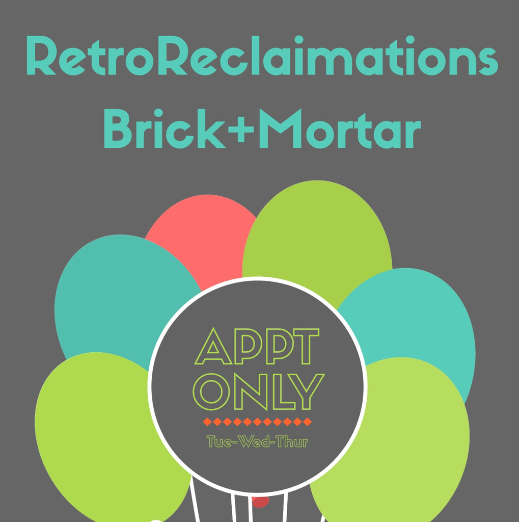 RetroReclaimations Brick+Mortar Store Announcement