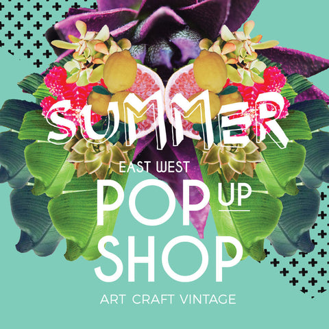 East West Summer Pop Up Shop