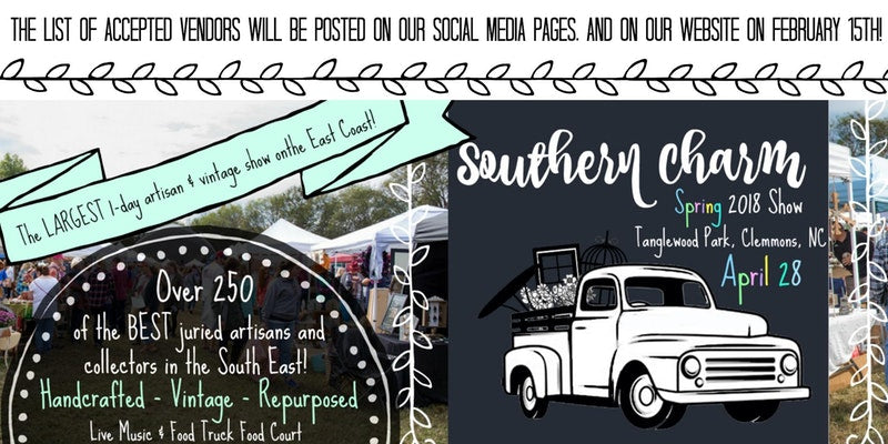 Southern Charm at the Farm Event Flyer